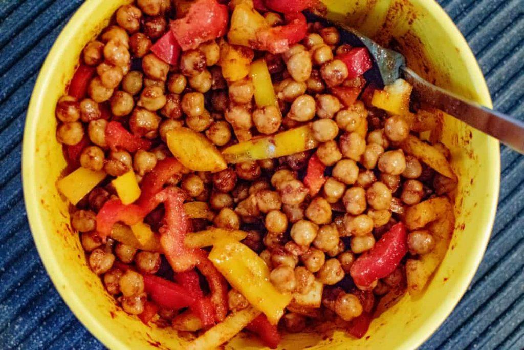 Paprika Spiced Chickpeas