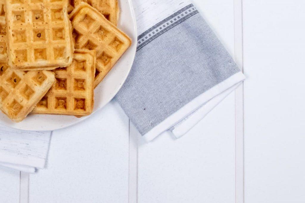 Vegan Aquafaba Waffles