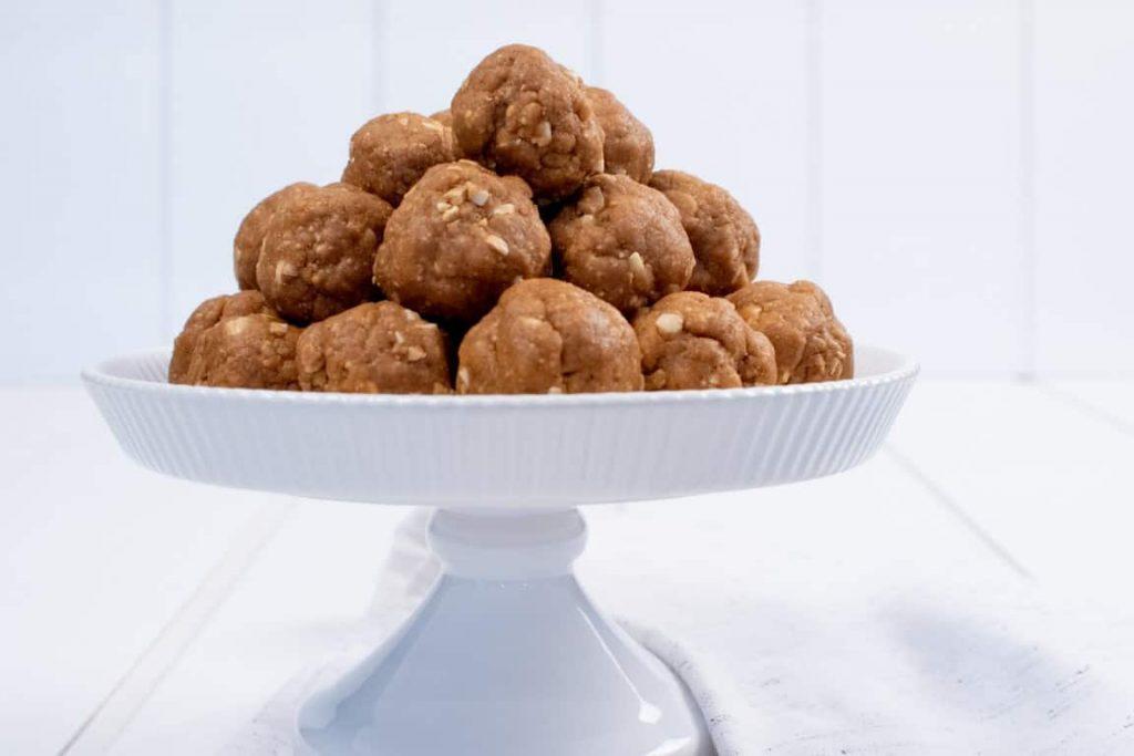 No-Bake Peanut Butter Cookie