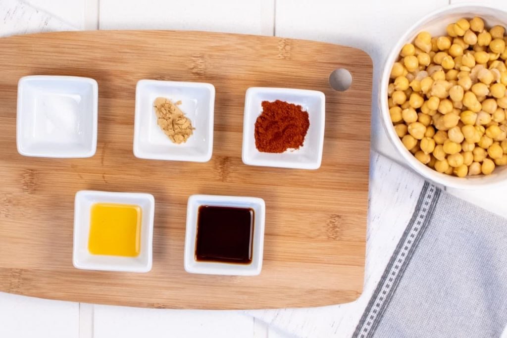 Smoked Ginger Chickpeas