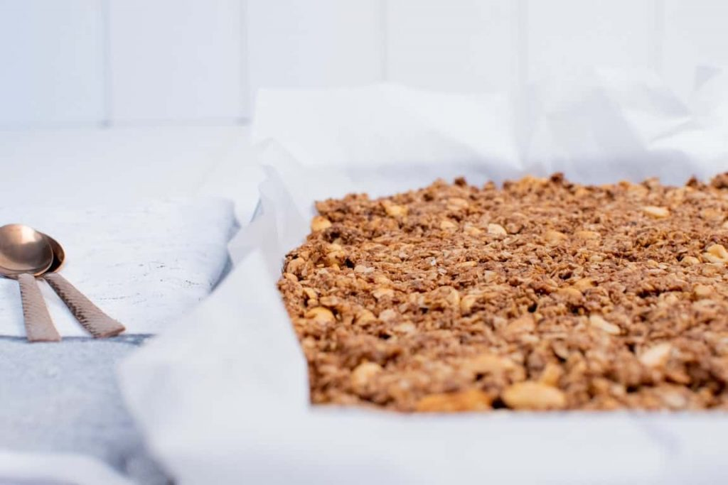 Seedy Vegan Breakfast Granola