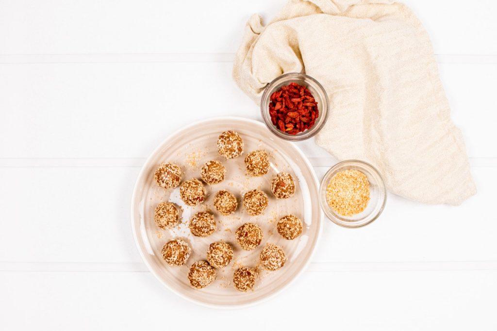 Coconut Goji Protein Balls
