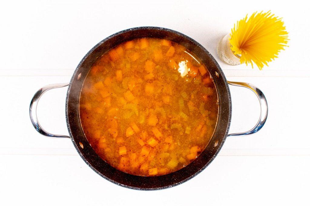 Miso Vegetable Noodle Soup