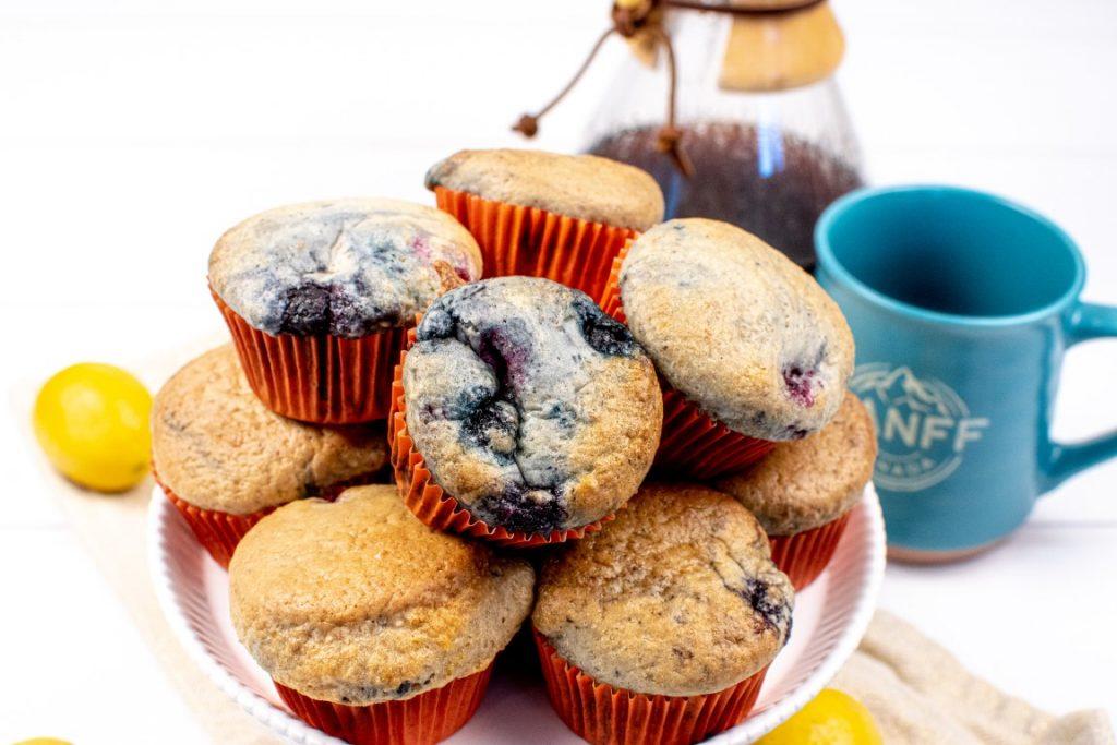 Triple Berry Vegan Muffins