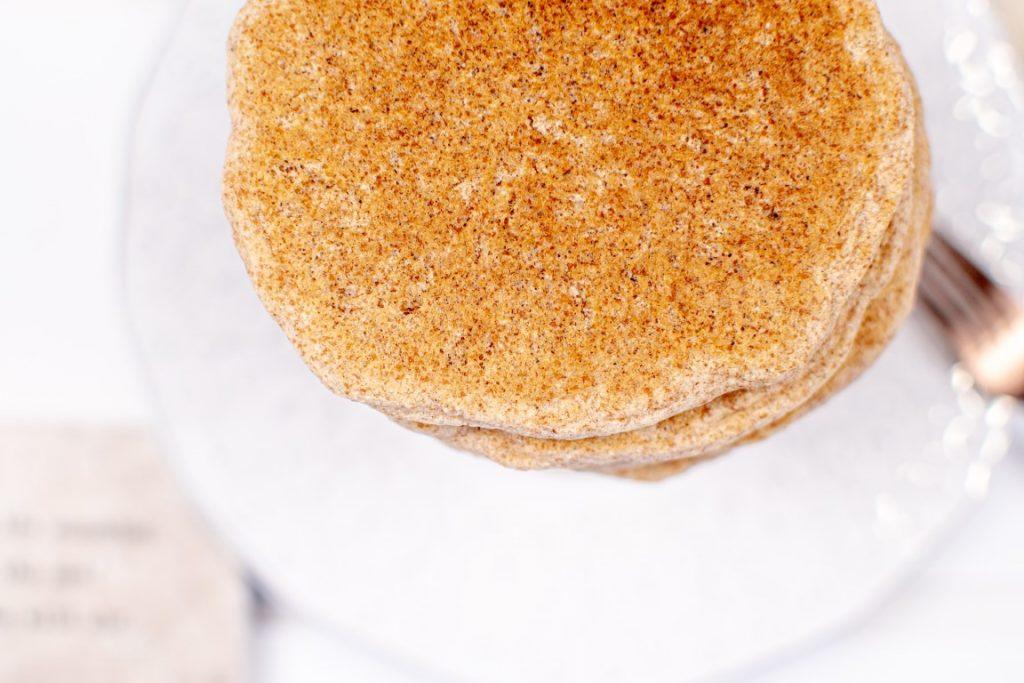 Vegan Spelt Flour Pancakes