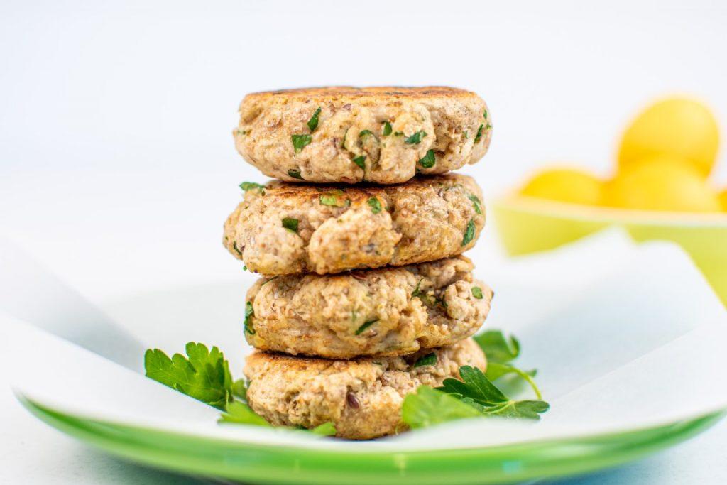 Vegan Multigrain Garlic Biscuits
