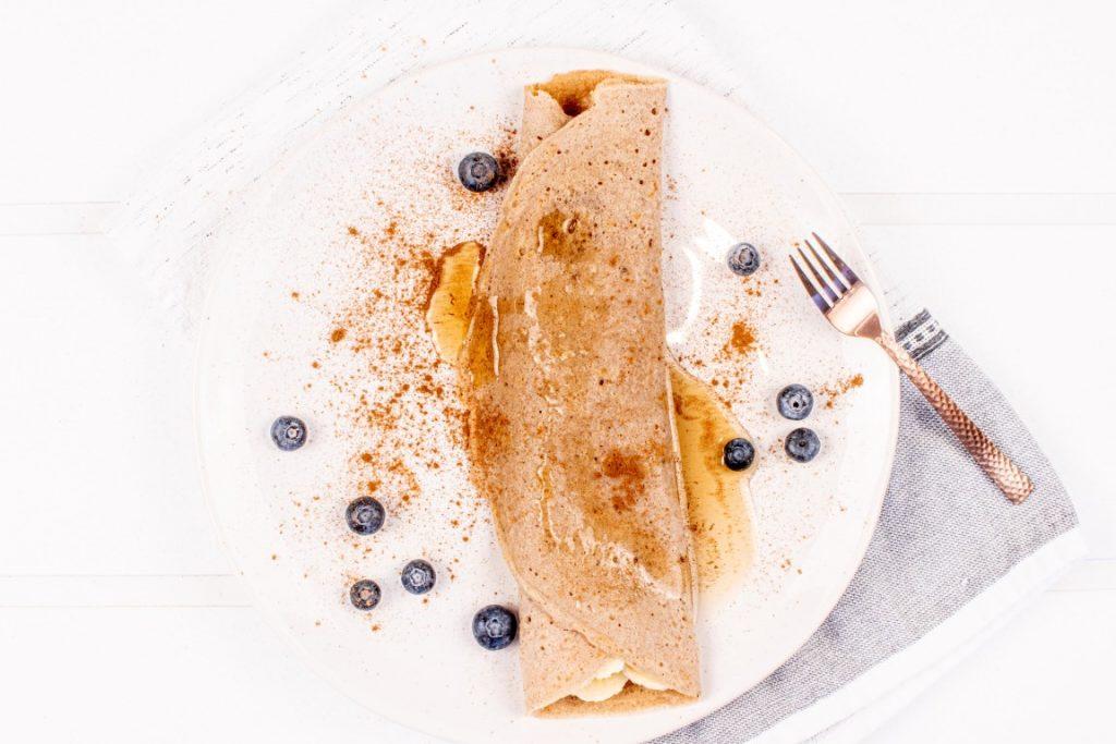 Vegan Cinnamon Toast Crepes