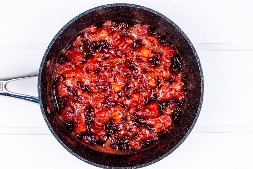 Lemon Strawberry Compote
