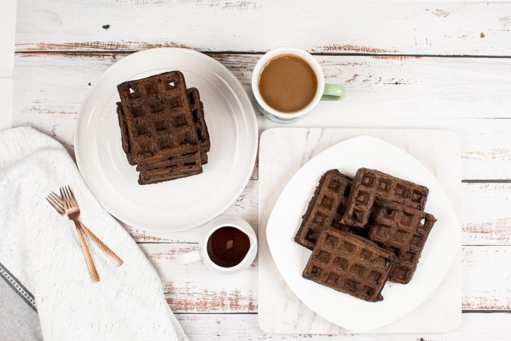 Best Vegan Chocolate Waffles