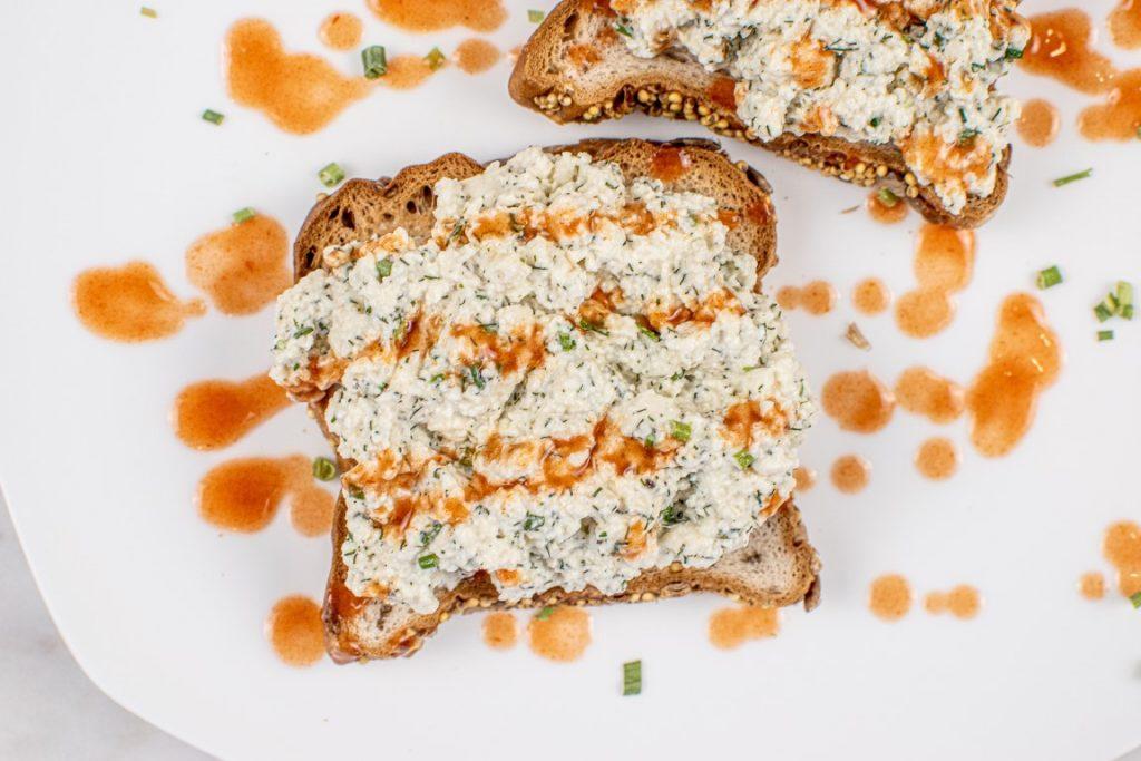 Vegan Tofu Egg Salad