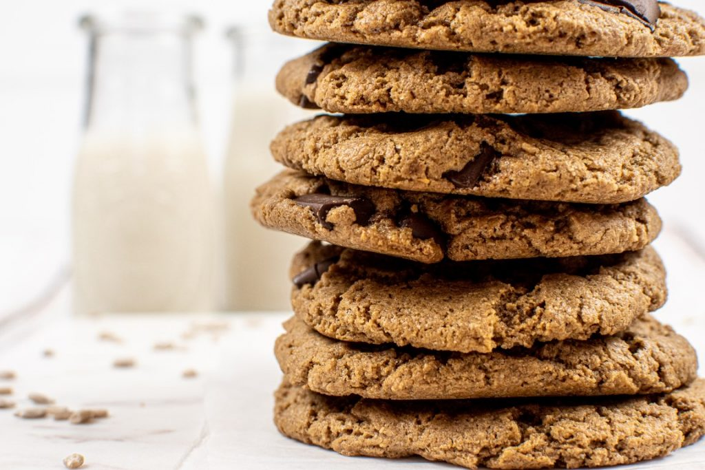 Sunflower Seed Butter Chocolate Chip Cookies