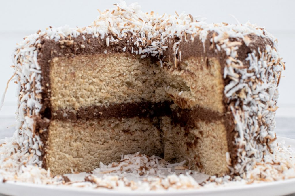Best Vegan Vanilla Cake