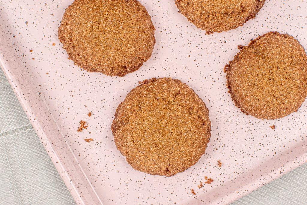 Vegan Ginger Tea Biscuits