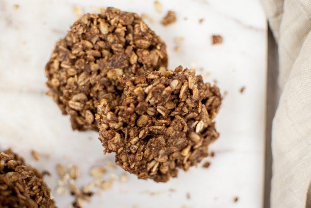 No-Bake Ginger Oat Cookies
