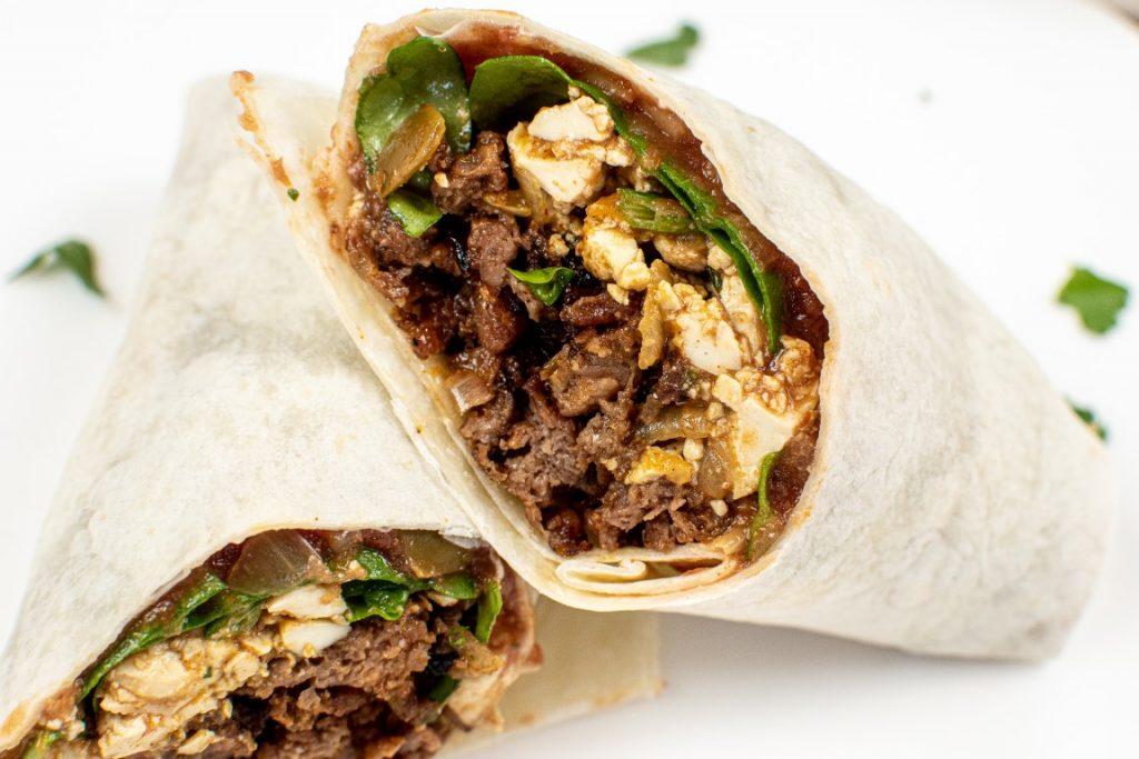 BEST Vegan Breakfast Burrito