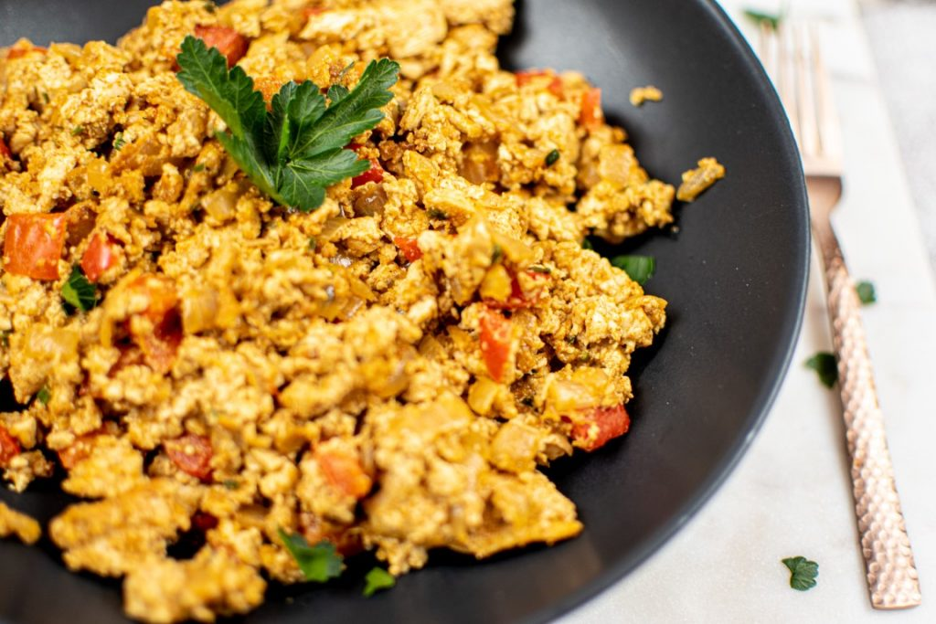 Vegan Tofu Scrambled Eggs