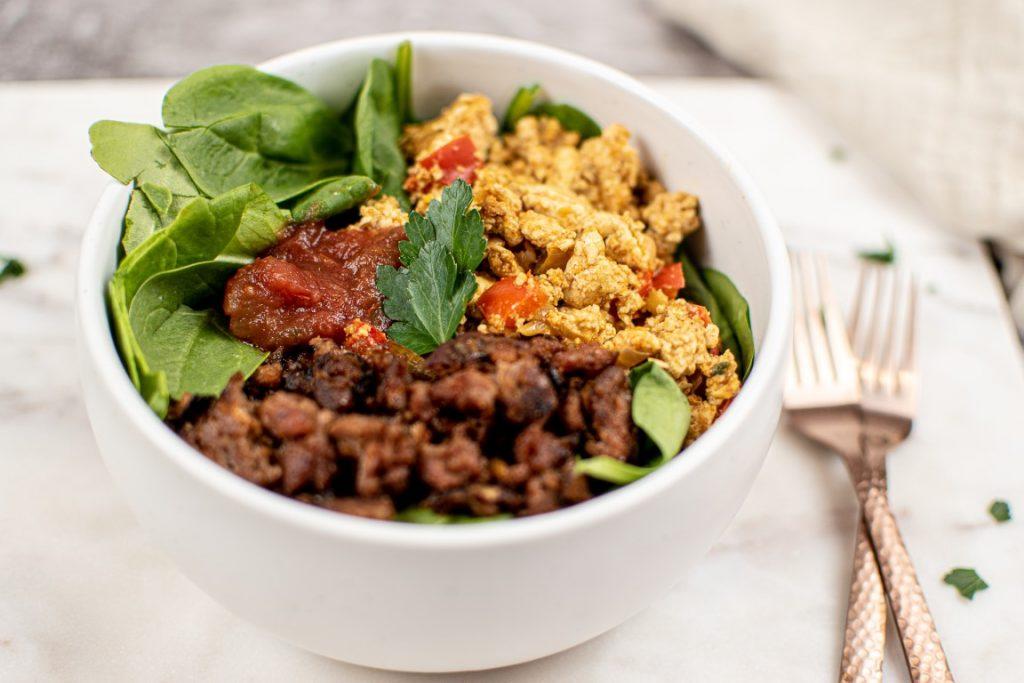 Easy Vegan Burrito Bowls