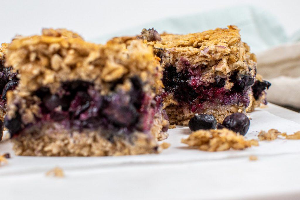 Healthy Vegan Breakfast Bars