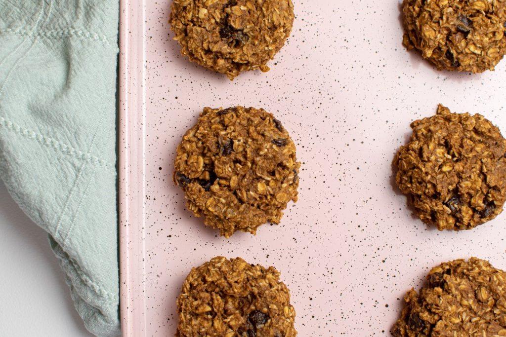 Healthy Loaded Oatmeal Cookies